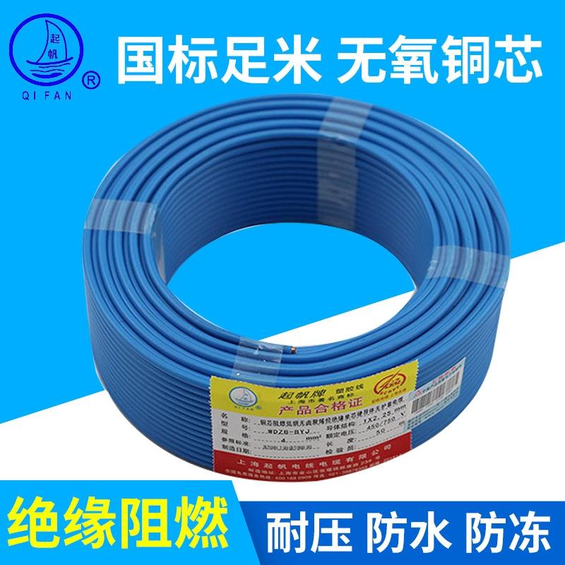 WDZB-BYJ1.5 阻燃低烟无卤聚烯烃绝缘电缆